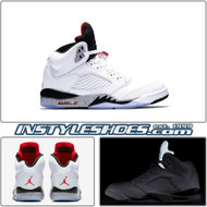 Air Jordan 5 GS White Cement 440888-104