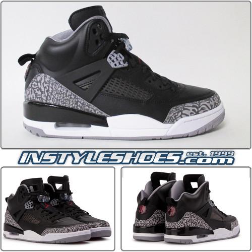 Air Jordan Spizike Black Cement 315371-034