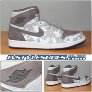 Air Jordan 1 High Prm Grey Camo AA3993-027