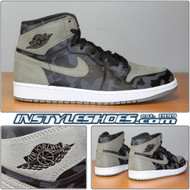 Air Jordan 1 High Prm Shadow Camo AA3993-034