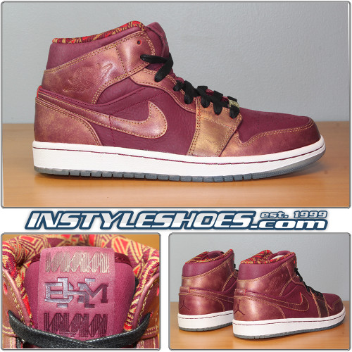 Air Jordan 1 Mid BHM 647561-605