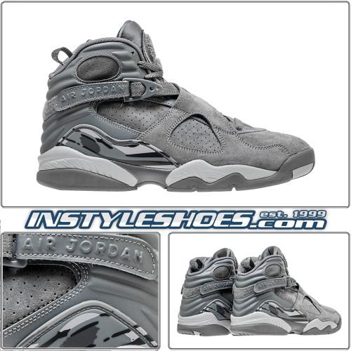 Air Jordan 8 Cool Grey 305381-014