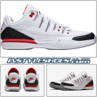 "Nike Nikecourt Zoom Vapor RF x AJ3 ""Fire Red"""