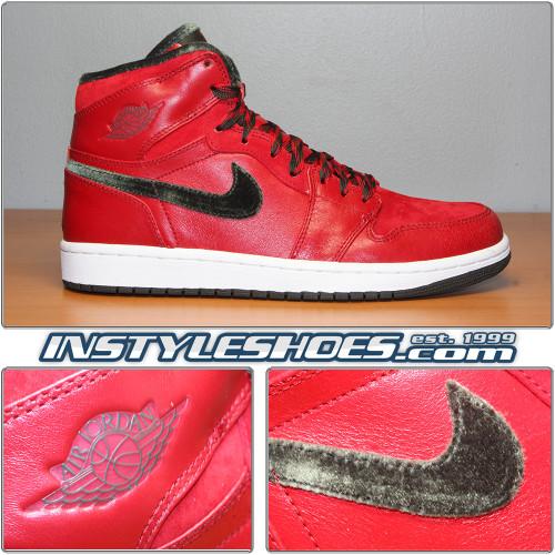 Air Jordan 1 Hi Premier V Red 332134-631