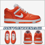 Nike SB Air Force 2 Low x Supreme - Orange Blaze