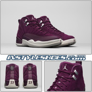 Air Jordan 12 GS Bordeaux 153265-617