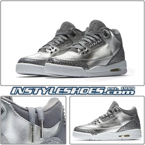 Air Jordan 3 GS Chrome AA1243-020