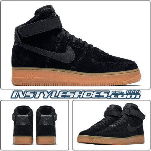 Air Force 1 High LV8 Black Gum AA1118-001