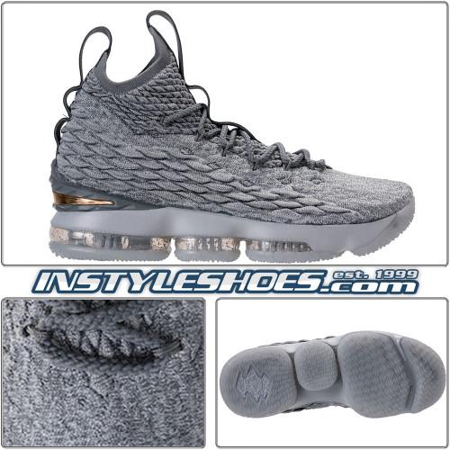 Lebron XV Wolf Grey 897648-005
