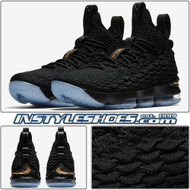 Lebron 15 Black Gold 897648-006