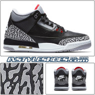 Air Jordan 3 GS Black Cement 854261-001