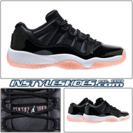 Air Jordan 11 GS Black Bleached Coral 580521-013
