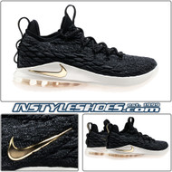 Lebron 15 Low Black Gold AO1755-001
