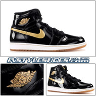 Air Jordan 1 High OG Black Gold 555088-019