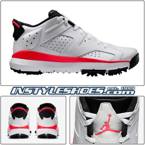 Air Jordan 6 Low Golf White Infrared 800657-123