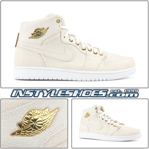 Air Jordan 1 Pinnacle White Gold 705075-130