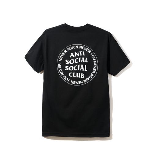 Anti Social Social Club Never Again Black Tee