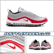 Nike Air Max 97 Pure Platinum Silver University Red Gym 921826-009