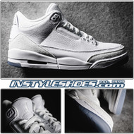 Air Jordan 3 Triple White 136064-111