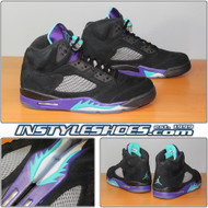 Air Jordan 5 Black Grape 136027-007