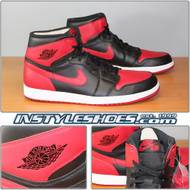 Air Jordan 1 High OG Black Varsity Red 555088-023