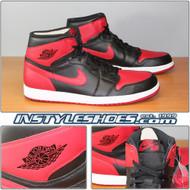 Air Jordan 1 High OG Black Varsity Red 555088-023