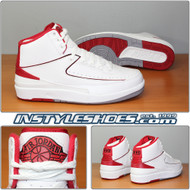 Air Jordan 2 White Varsity Red 385475-102