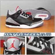 Air Jordan 3 Retro Black Cement 136064-010