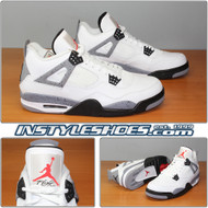 Air Jordan 4 White Cement 308497-103