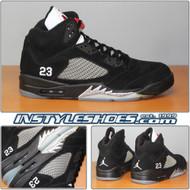 Air Jordan 5 Black Met Silver 136027-010
