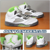 Air Jordan 5 Green Bean 136027-031
