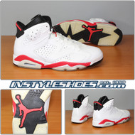 Air Jordan 6 White Infrared 384664-103