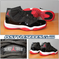 Air Jordan 11 Black Varsity Red 136046-061