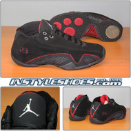 Air Jordan XX1 Low Black Varsity Red 313529-002