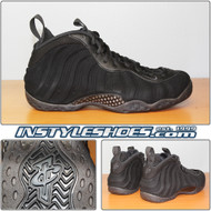 Air Foamposite One Black Suede 575420-006