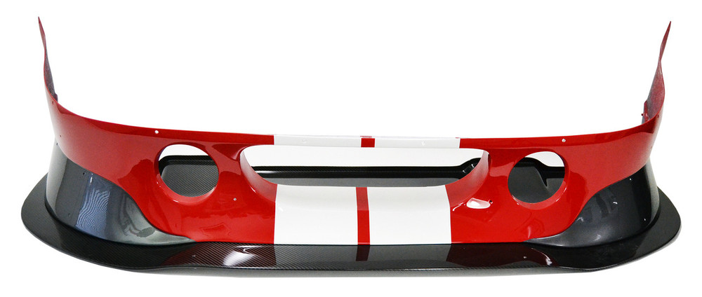 Coupe-R front bumper with race splitter.