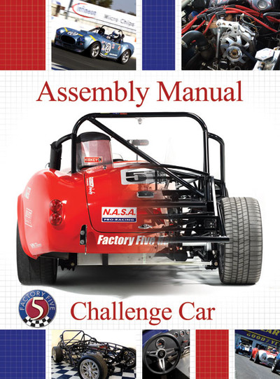 #13543 - Challenge Series Racer Assembly Manual - Printed Version