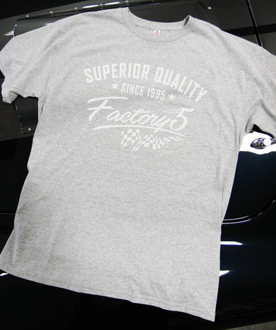 "#16342 - Factory Five ""Superior Quality"" T-Shirt"