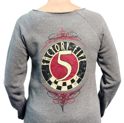 Factory Five Women's Gray Sweatshirt