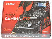 MSI Z170A GAMING M7 LGA 1151 Intel Z170 HDMI SATA 6Gb/s USB 3.1 ATX Intel Mother