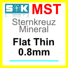 Glass, Flat 0.8mm (MST)