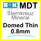Glass, Domed 0.8mm (MDT)