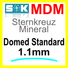 Glass, Domed 1.0mm (MDM)