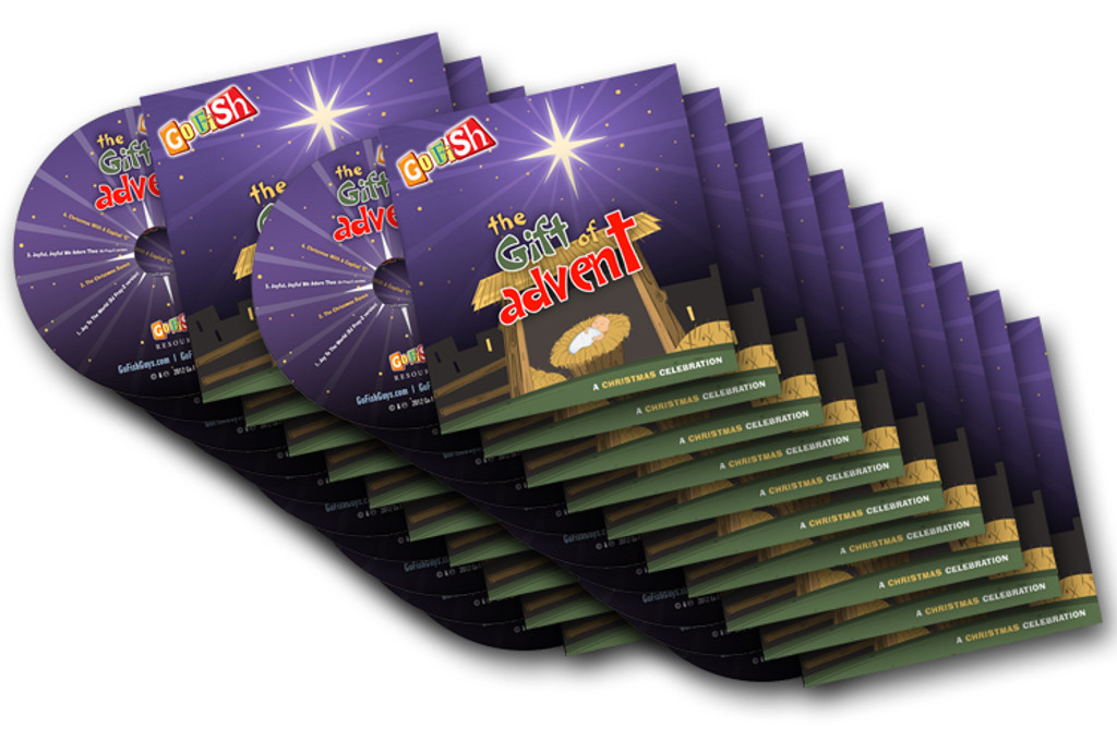 The Gift Of Advent CD 20-Pack