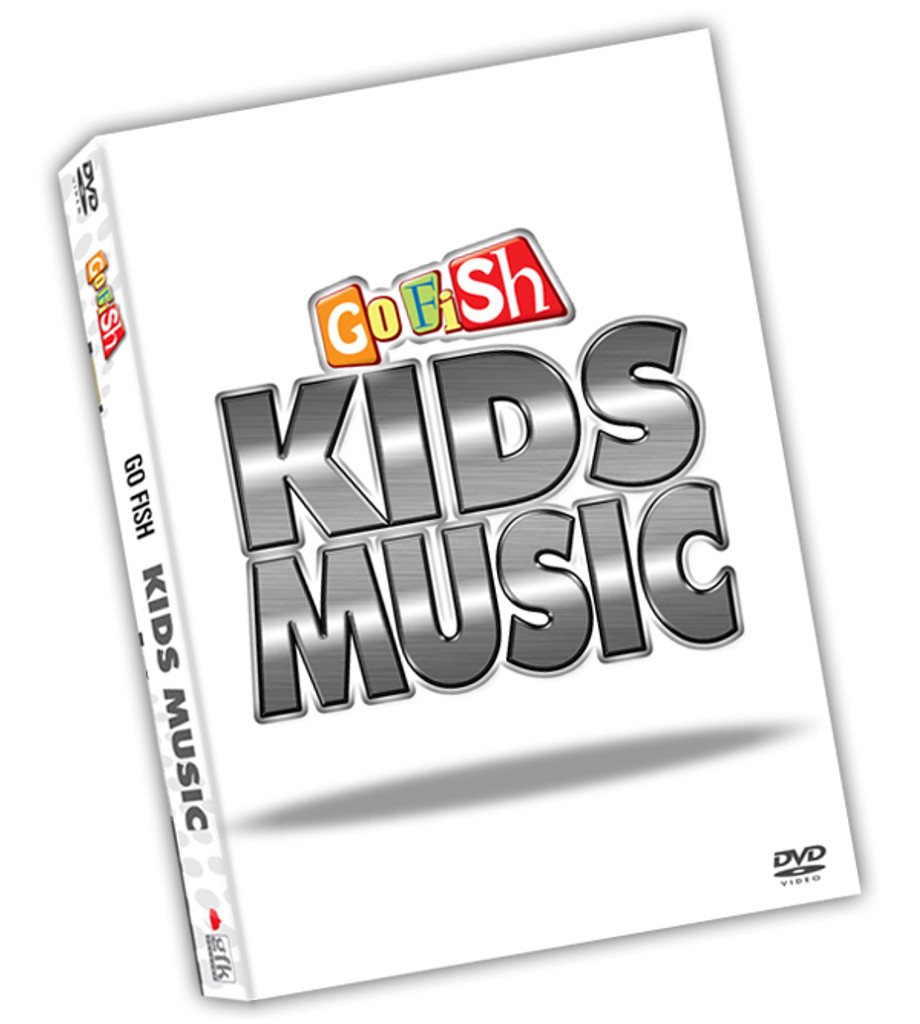 Go Fish once again redefines what it means to make great music for kids on this incredible DVD!