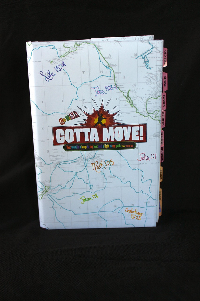 Gotta Move! VBS Map Bible Cover Craft 20-Pack