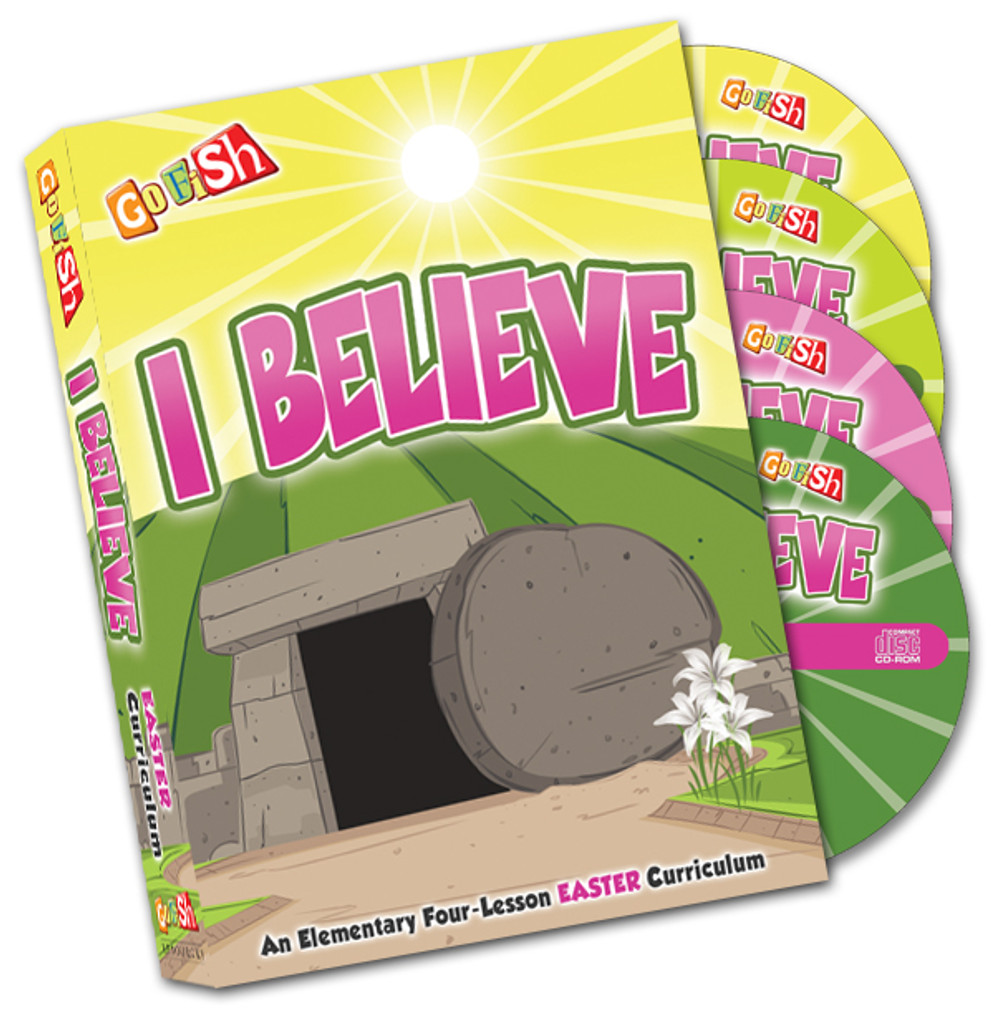 Celebrate Easter with this gospel-centered, children's ministry curriculum from Go Fish Resources!