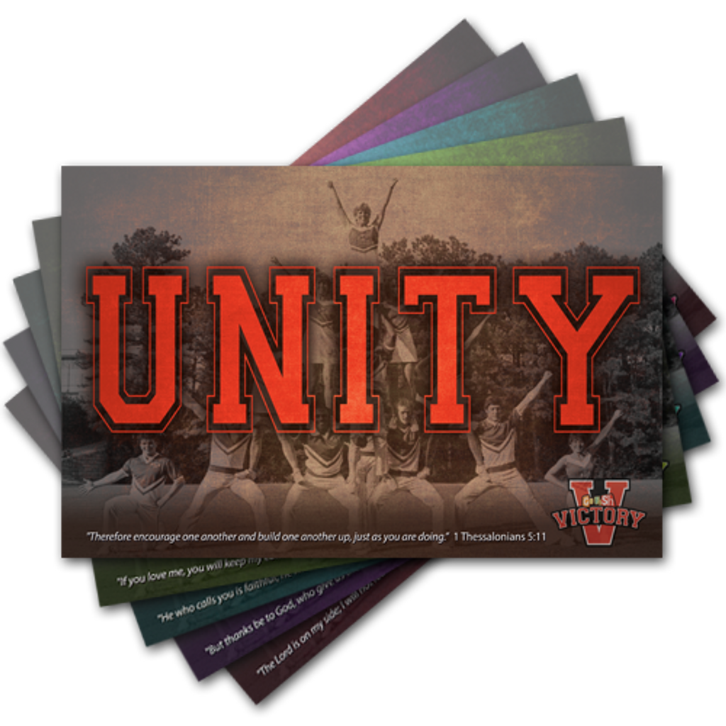 Each kit includes five 11x17 inch Daily Theme posters.  Each poster also includes the focus verse for the day!
