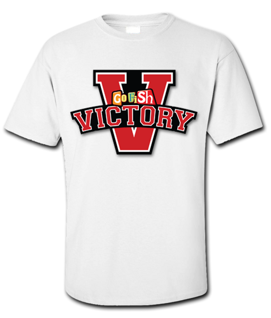 Each kit includes an adult large Victory t-shirt.