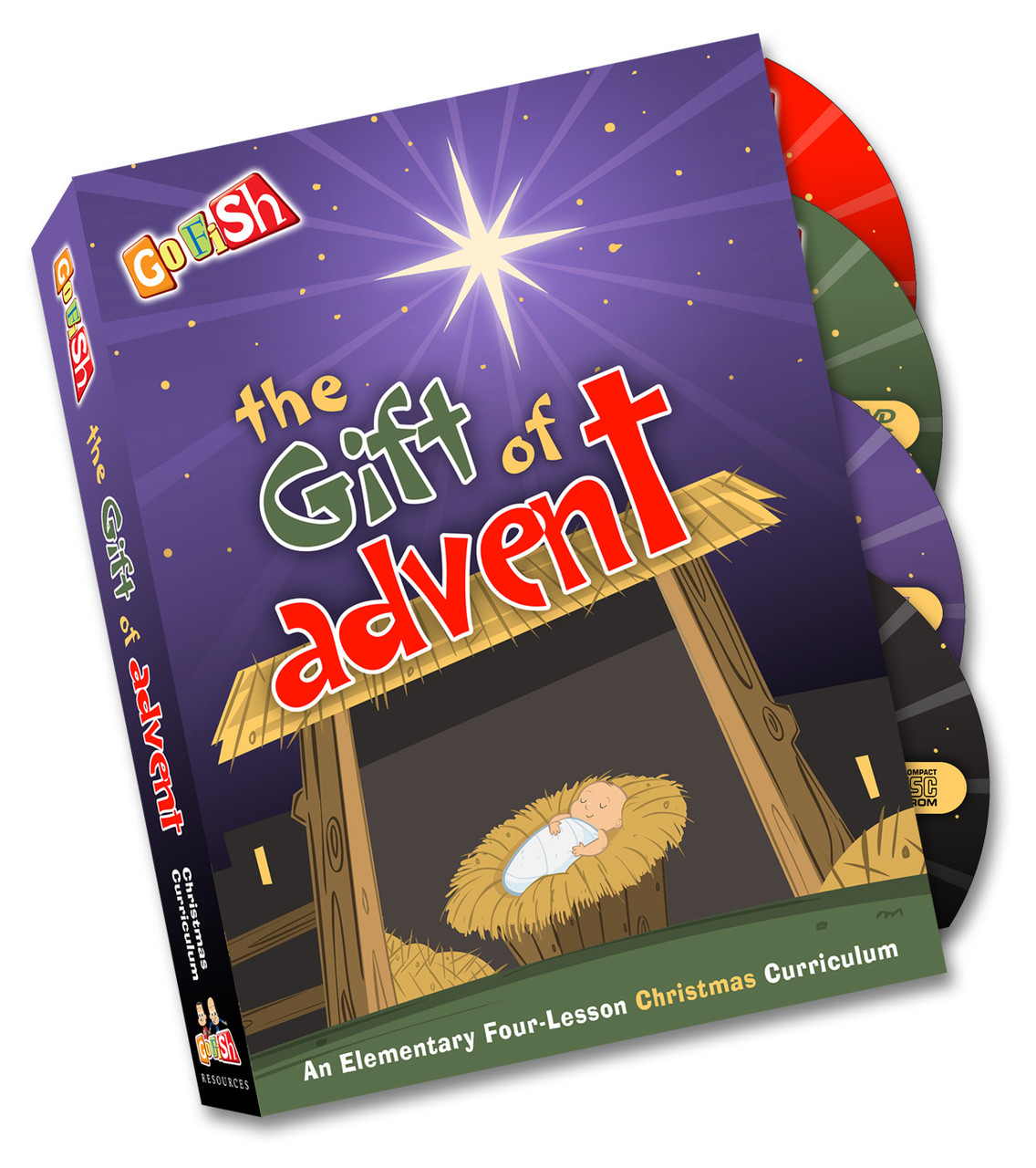 The Gift Of Advent: Christmas Curriculum Kit